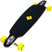 Atom Yellow Longboard Drop Through