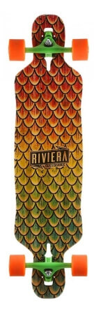 Profi Longboards: Riviera - Beta Fish Mini Drop-Through