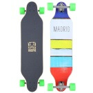 Carving Longboard Vevendo Madrid Weezer Paint Stripes