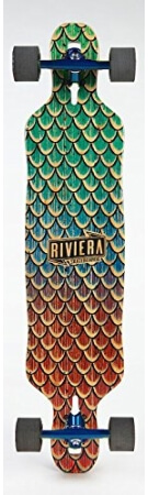 Sea Snake Drop Through Riviera Longboard